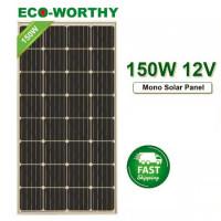 150W Solar Panel Monocrystalline
